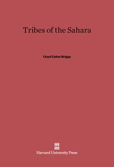 Cover: Tribes of the Sahara