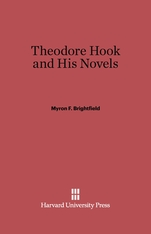 Cover: Theodore Hook and His Novels