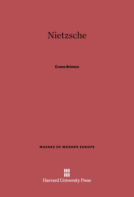 Cover: Nietzsche, from Harvard University Press