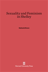 Cover: Sexuality and Feminism in Shelley