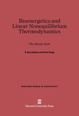 Cover: Bioenergetics and Linear Nonequilibrium Thermodynamics: The Steady State