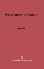 Cover: Woodsman's Manual