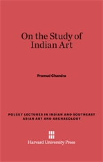 Cover: On the Study of Indian Art