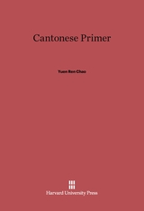 Cover: Cantonese Primer