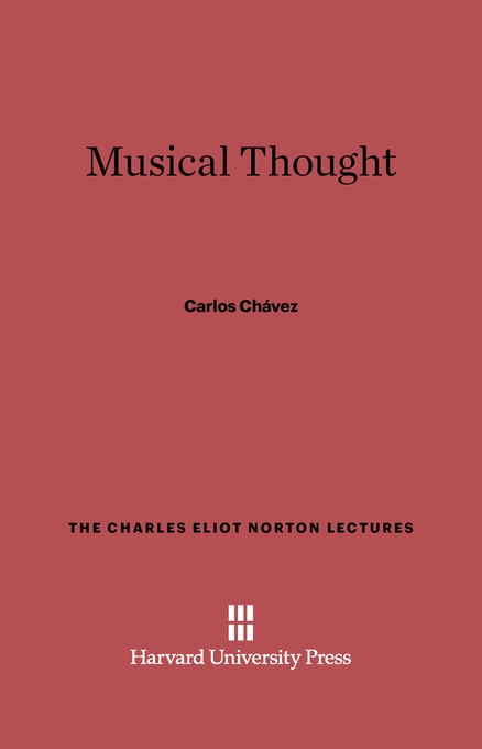 Cover: Musical Thought, from Harvard University Press