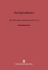 Cover: Jurisprudence: The Philosophy and Method of the Law, Revised Edition