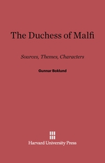 Cover: The Duchess of Malfi: Sources, Themes, Characters