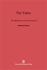 Cover: The Tatler: The Making of a Literary Journal