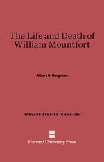 Cover: The Life and Death of William Montfort