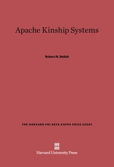 Cover: Apache Kinship Systems