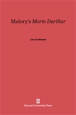 Cover: Malory's <i>Morte Darthur</i>