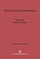Cover: The Process of Government