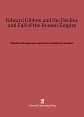 Cover: Edward Gibbon and the Decline and Fall of the Roman Empire