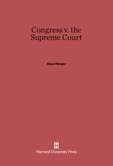 Cover: Congress v. the Supreme Court