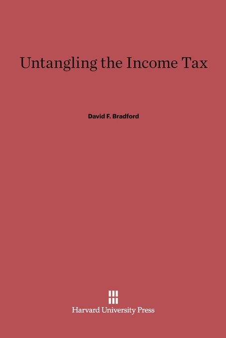 Cover: Untangling the Income Tax, from Harvard University Press