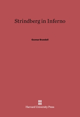 Cover: Strindberg in Inferno