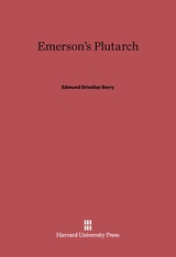 Cover: Emerson's Plutarch