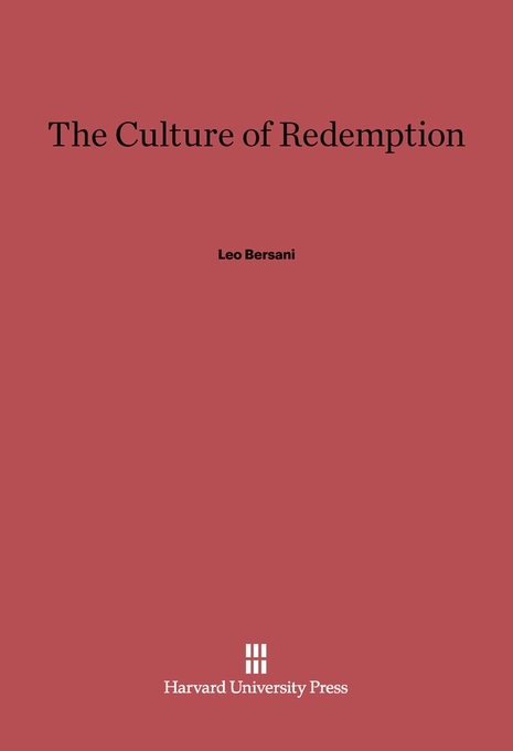 Cover: The Culture of Redemption, from Harvard University Press