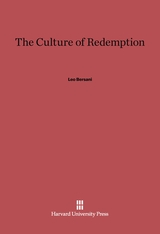 Cover: The Culture of Redemption