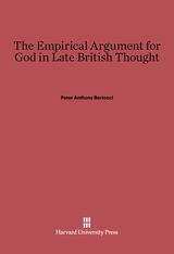 Cover: The Empirical Argument for God in Late British Thought