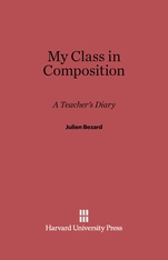 Cover: My Class in Composition: A Teacher's Diary