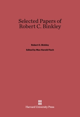Cover: Selected Papers of Robert C. Binkley