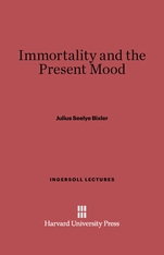 Cover: Immortality and the Present Mood