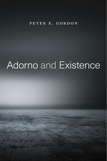 Adorno and Existence Book Cover