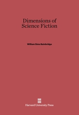 Cover: Dimensions of Science Fiction in E-DITION