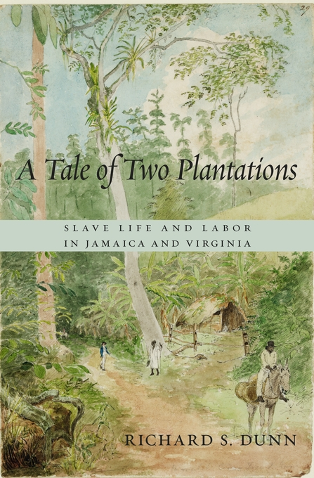 Cover: A Tale of Two Plantations: Slave Life and Labor in Jamaica and Virginia, from Harvard University Press