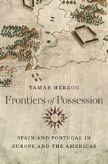 Cover: Frontiers of Possession in HARDCOVER