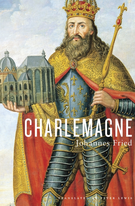 Cover: Charlemagne, from Harvard University Press
