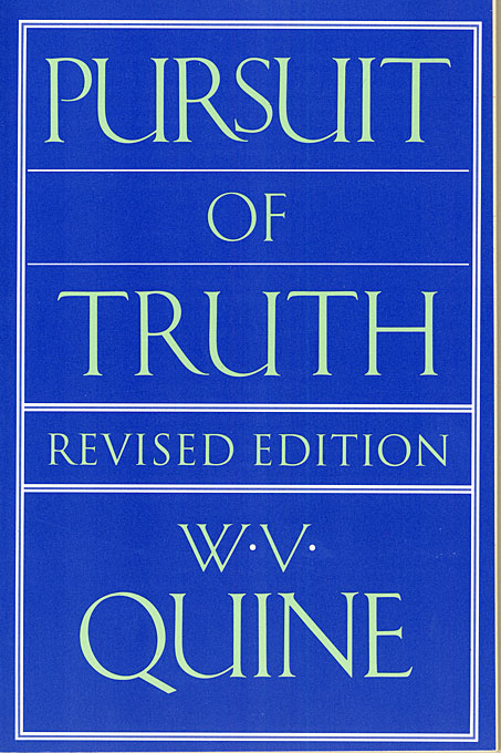Cover: Pursuit of Truth: Revised Edition, from Harvard University Press