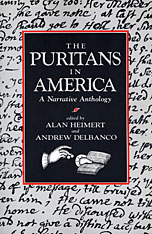 Cover: The Puritans in America: A Narrative Anthology