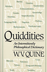 Cover: Quiddities: An Intermittently Philosophical Dictionary
