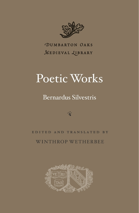 Cover: Poetic Works, from Harvard University Press