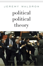 Cover: Political Political Theory: Essays on Institutions
