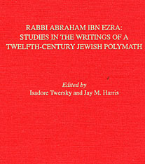 Cover: Rabbi Abraham Ibn Ezra: Studies in the Writings of a Twelfth-Century Jewish Polymath