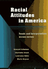 Cover: Racial Attitudes in America: Trends and Interpretations, Revised Edition