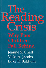 Cover: The Reading Crisis: Why Poor Children Fall Behind