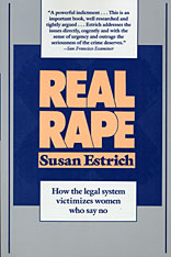 Cover: Real Rape in PAPERBACK
