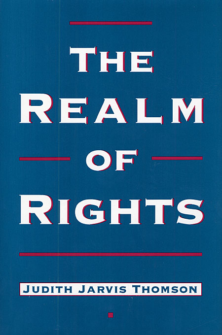 Cover: The Realm of Rights, from Harvard University Press