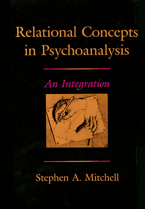 Cover: Relational Concepts in Psychoanalysis: An Integration, from Harvard University Press