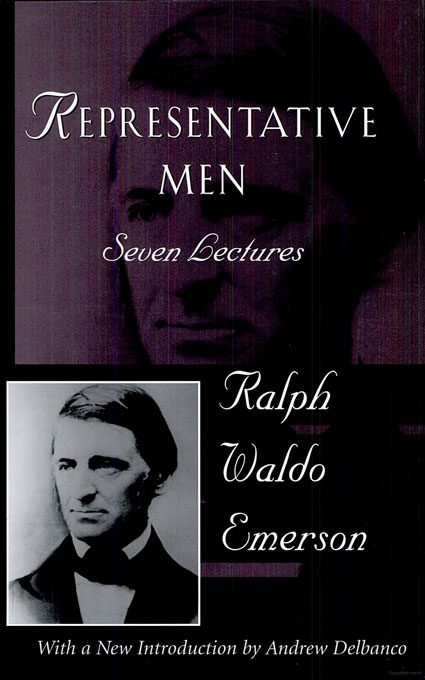 Cover: Representative Men: Seven Lectures, from Harvard University Press