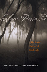 Cover: Salem Possessed in PAPERBACK