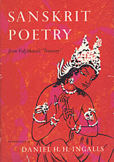 Cover: Sanskrit Poetry from Vidyakara's Treasury in PAPERBACK
