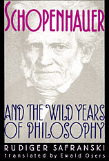 Cover: Schopenhauer and the Wild Years of Philosophy