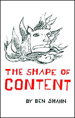 Cover: The Shape of Content in PAPERBACK