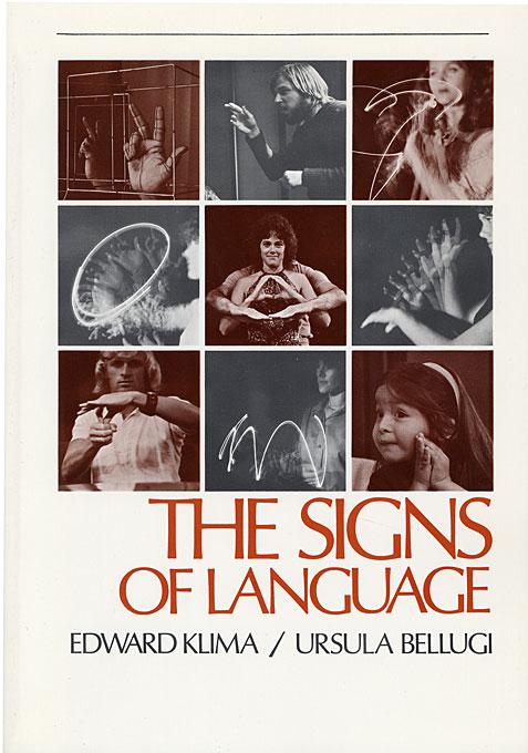 Cover: The Signs of Language, from Harvard University Press