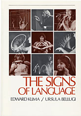 Cover: The Signs of Language in PAPERBACK